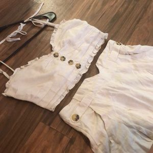 BRAND NEW FREE PEOPLE TWO PIECE PANTSUIT